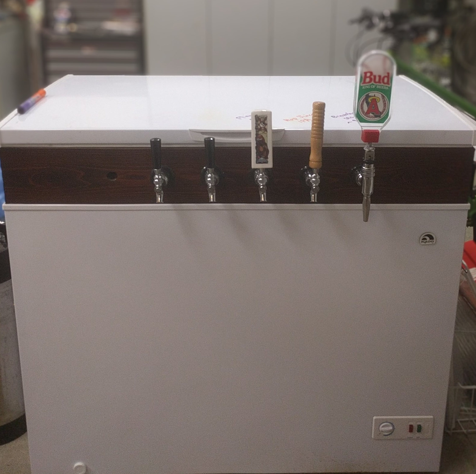 Six Tap Redwood Keezer Build