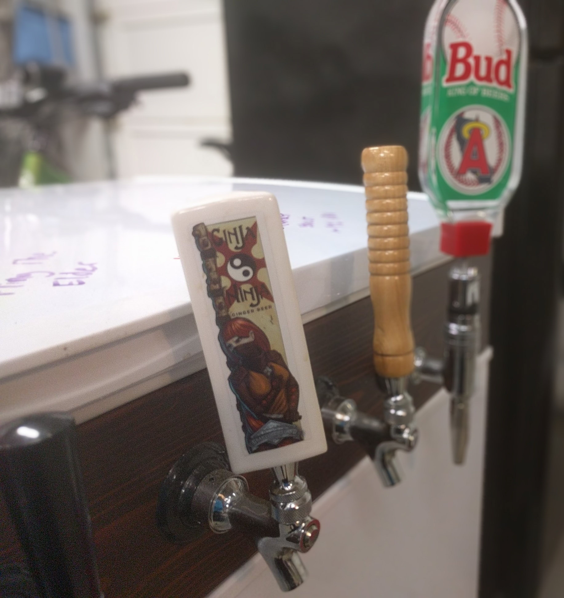 Custom Tap Handles for Keezer Build