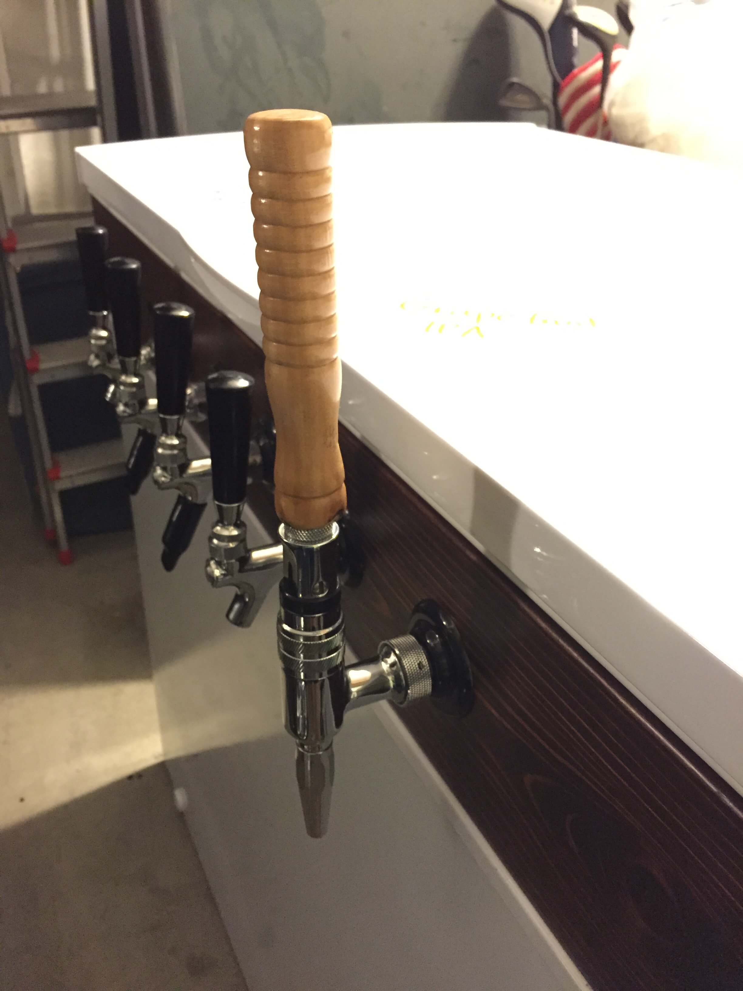 Umbrella IPA Tap Handle Homebrew