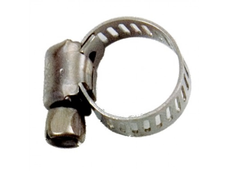 "S/S Worm Gear Clamp #1 1/8"" - 1/2"" OD"