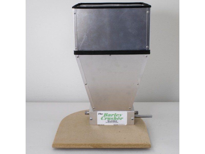 Barley Crusher with 15 lb. capacity Hopper