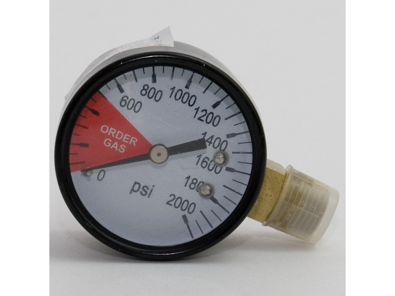 Regulator Gauge - 0-2000 psi LHT