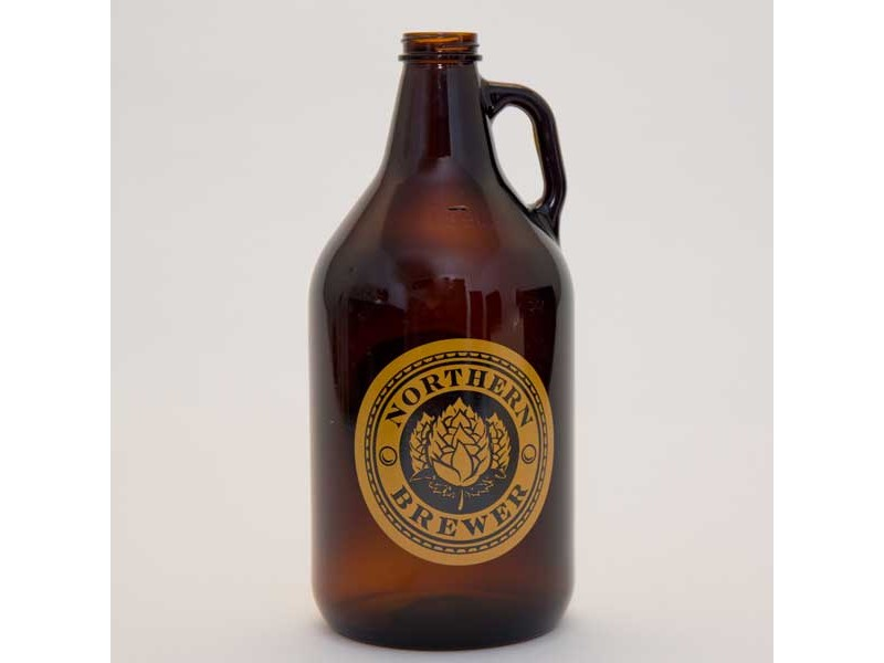 Gold Crest Growler with Cap