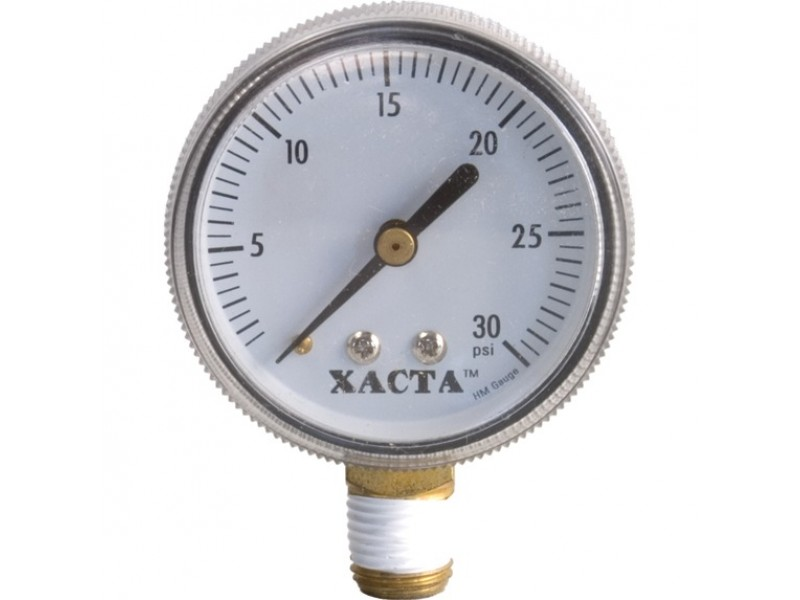 Regulator Gauge - 0-30 psi RHT