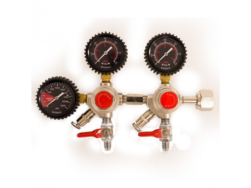 The Governor Double Body CO2 Regulator