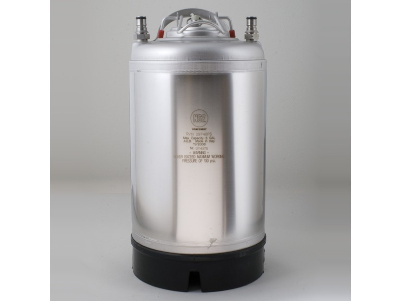 Ball Lock Soda Keg - 3 Gallon New
