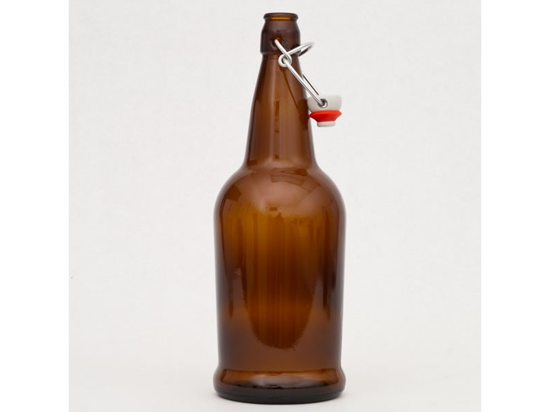 EZ-Cap Bottles - Brown 1 liter