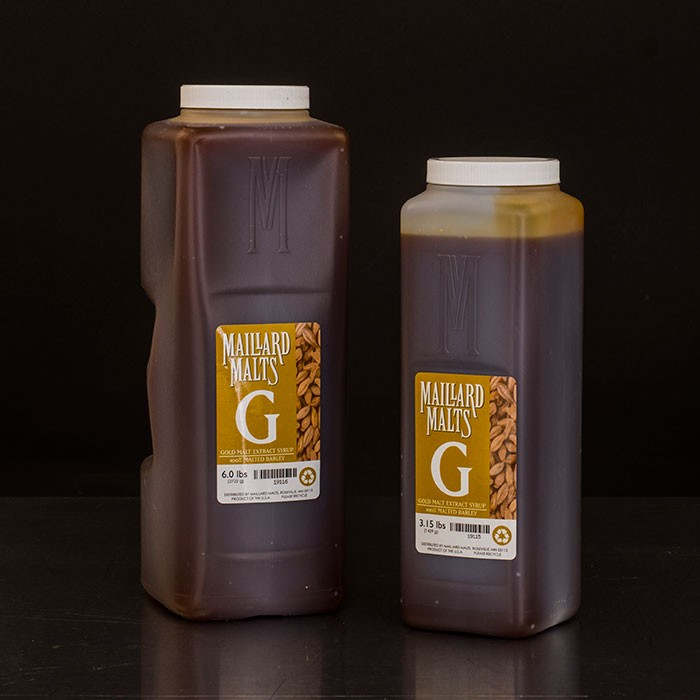 Gold Malt Extract Syrup - Maillard Malts