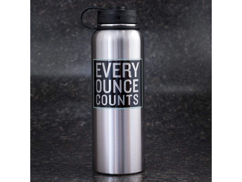 Every Ounce Counts Stainless Steel Growler