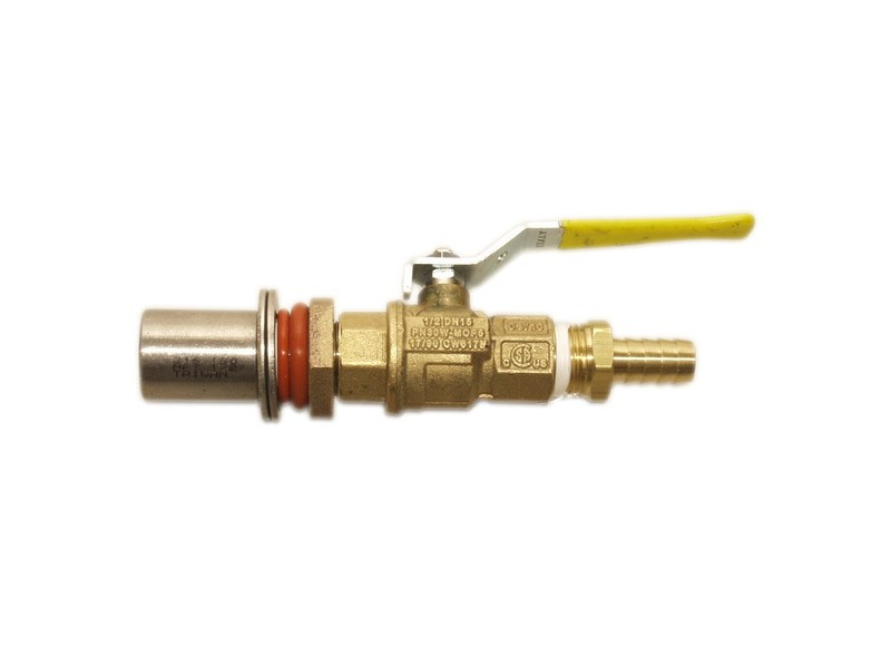 Bronze Cooler Valve Kit w/ barb