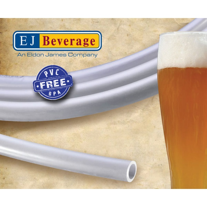 Ultra Barrier PVC Free Beer Tubing - (3/8 in ID) Roll of 100 ft