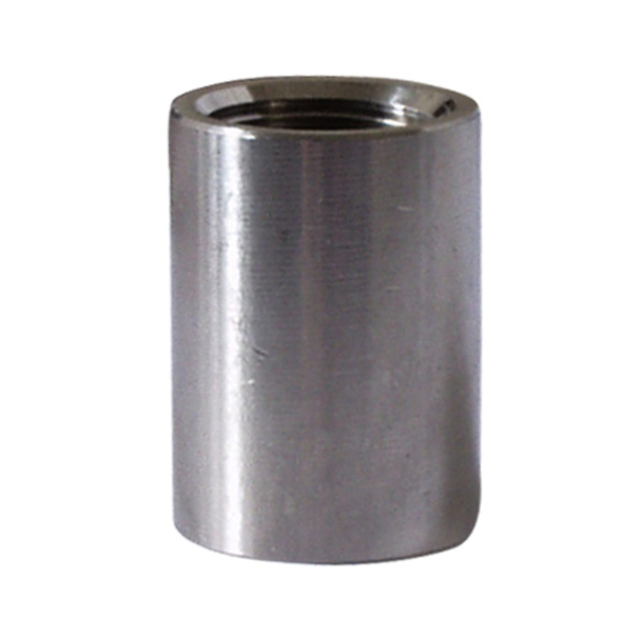 Stainless - Full Coupler - 1/2 in.
