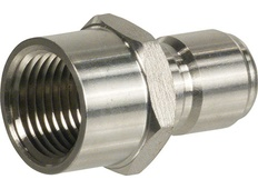 Male Stainless Steel Quick Disconnect w/ FPT