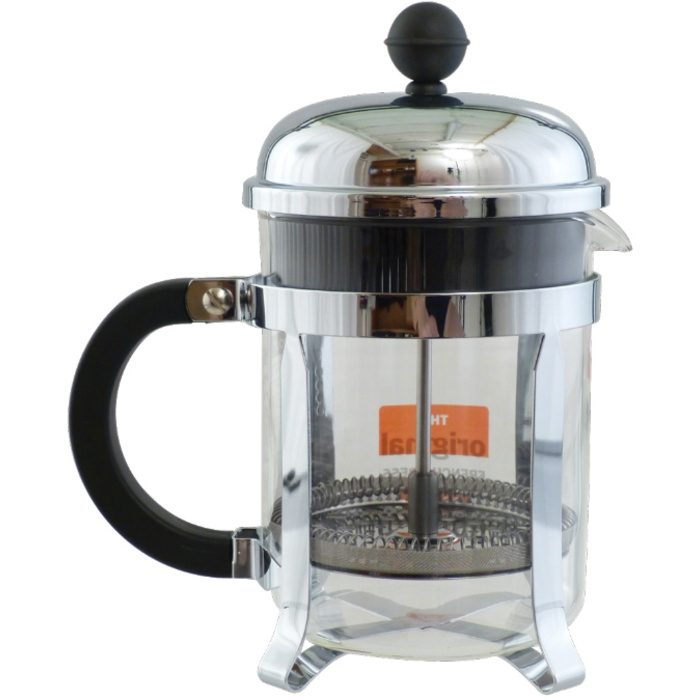 French Press - Stainless 4-Cup (Glass)