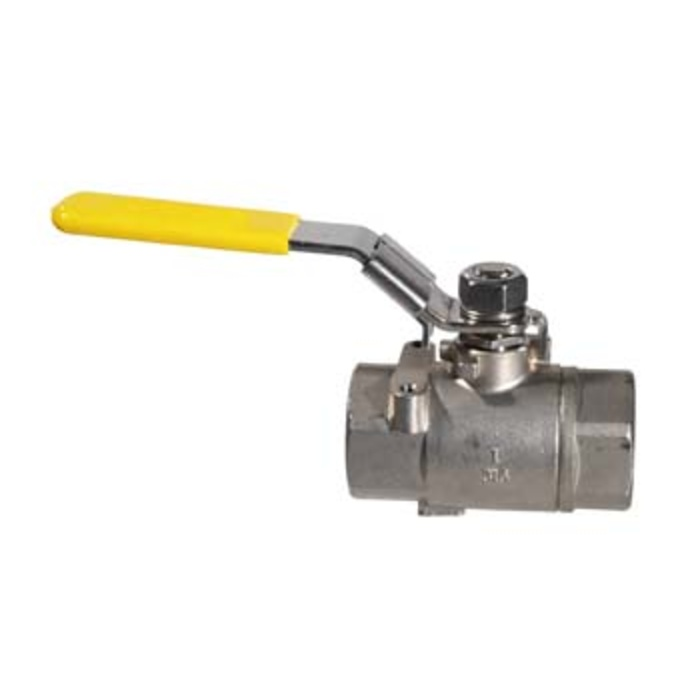 "Stainless Ball Valve - 1"" Full Port"