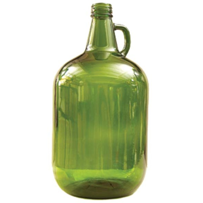 Glass Jar - 1 Gallon, Green (4 Liters)