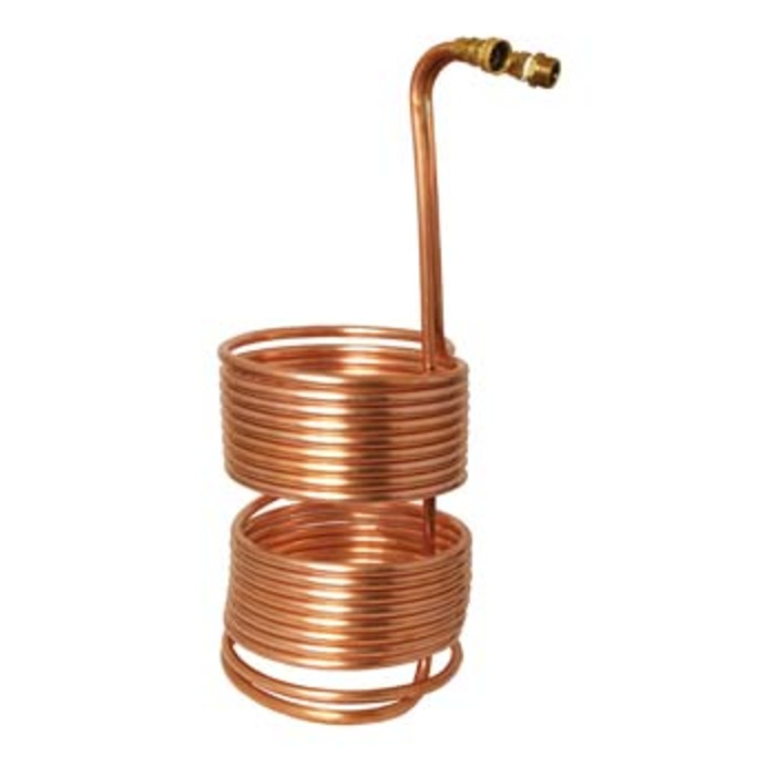 "Wort Chiller - Immersion Chiller - The 5/10 Split (50' x 1/2"")"