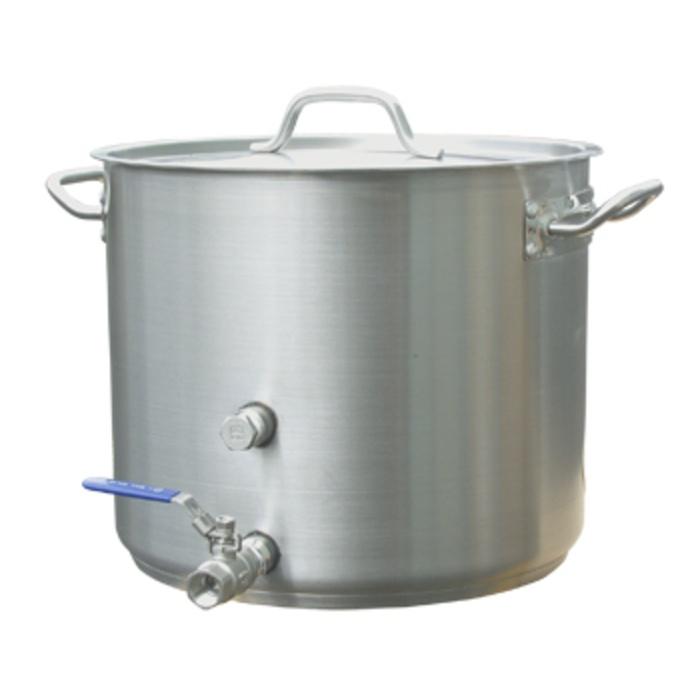 8 Gallon Stainless Brew Kettle - Heavy Duty