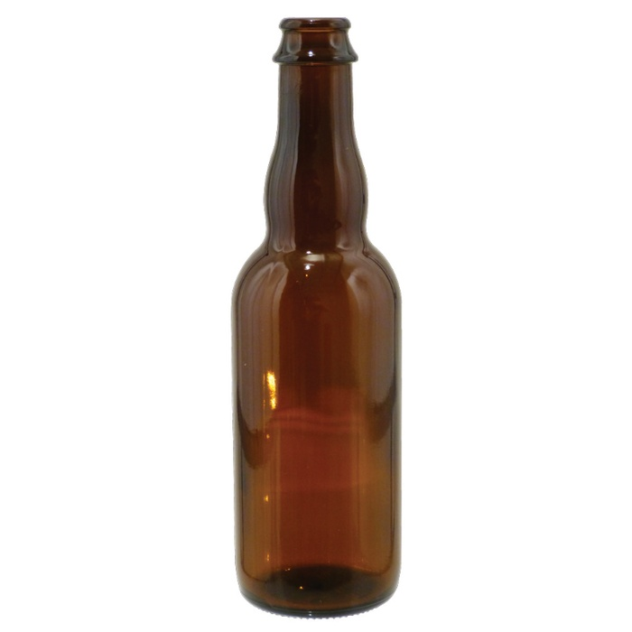 Belgian Style Beer Bottles - Cappable (qty 12) 375mL