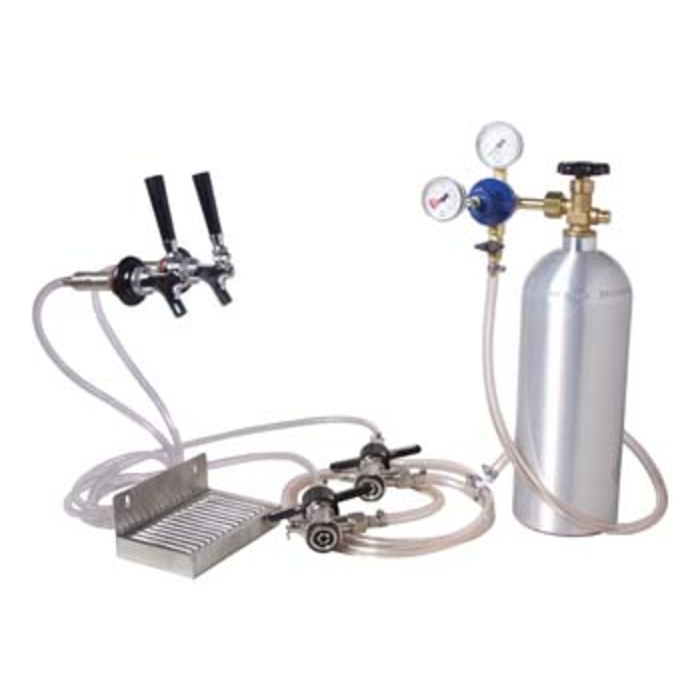 Two-Faucet Kegerator conversion kit