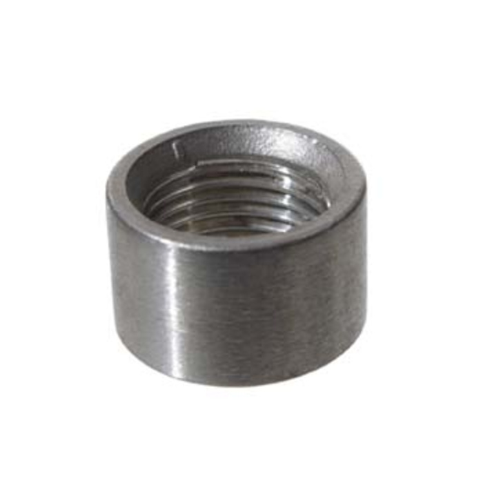 Stainless Half Coupler - 1/2""