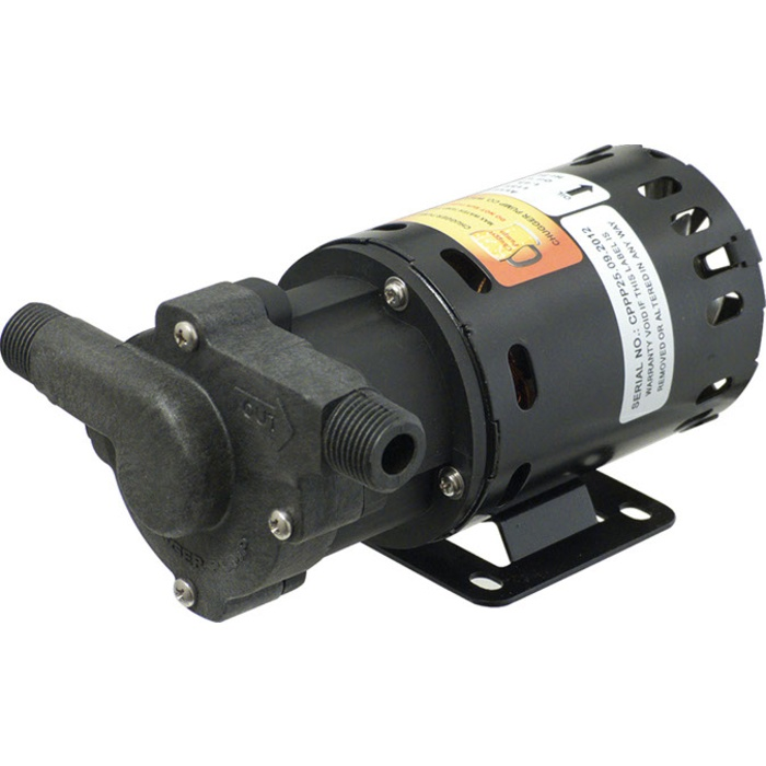 Chugger Pump With High Temperature Polysulfone Head