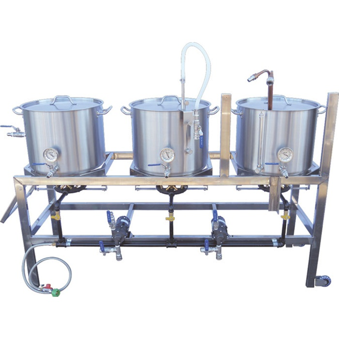 10 Gallon Single-Tier BrewSculpture (Natural Gas)