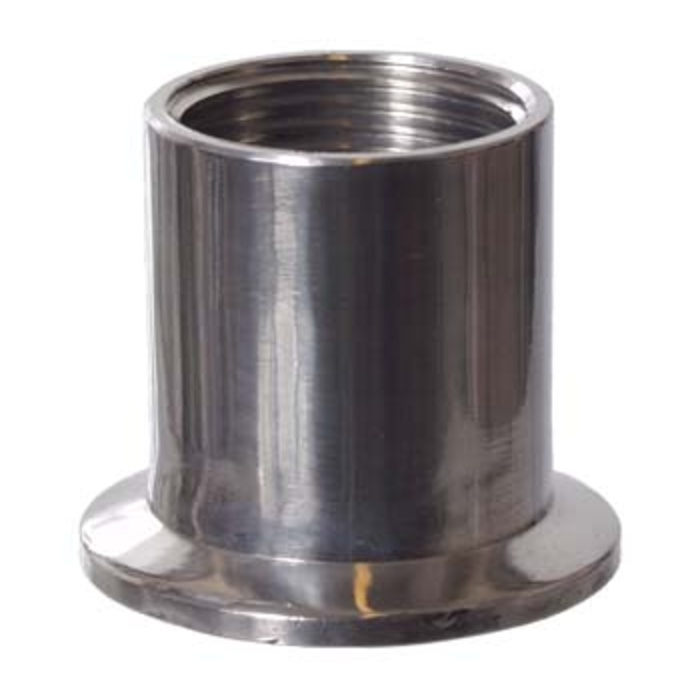 """Stainless - 1.5"""" T.C. x 1"""" FPT"""