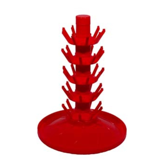 45 Seat Rotating Red Bottle Tree
