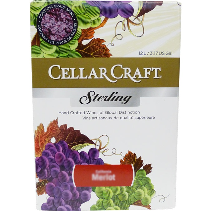 California Reserve Merlot - Cellar Craft Sterling Collection - Wine Kit