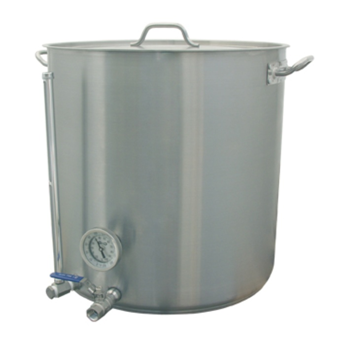 26 Gallon HLT - Stainless Hot Liquor Tank