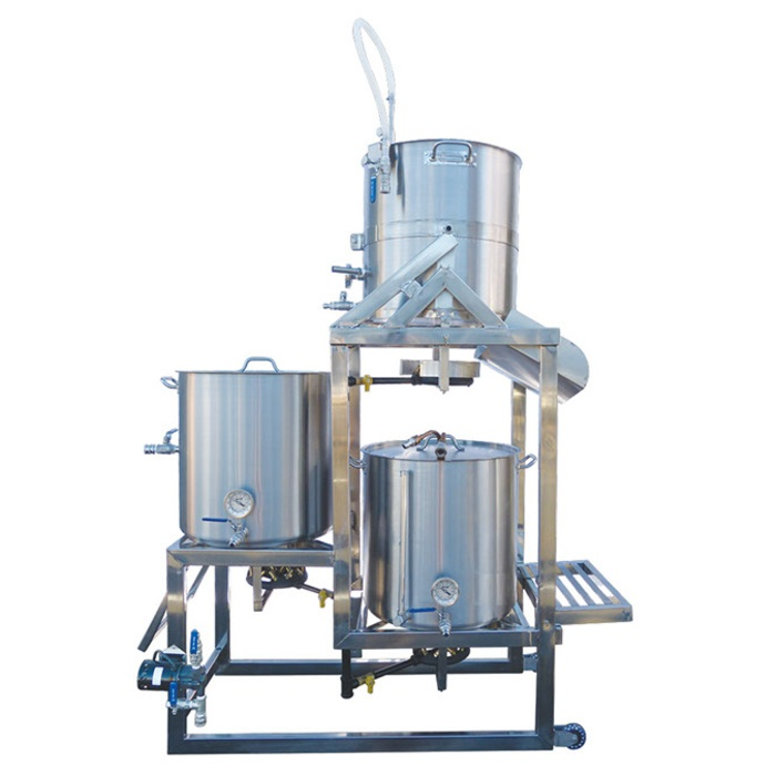 10 Gallon Tippy-Dump BrewSculpture (Natural Gas)