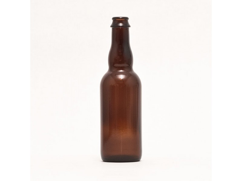 375 ml Belgian-style Beer Bottles - Crown Finish (Case of 12)