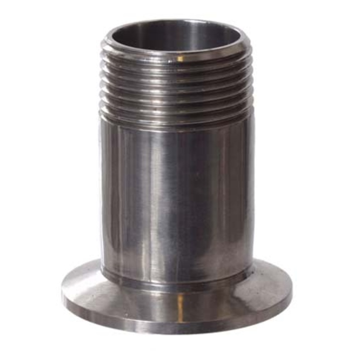 """Stainless - 1.5"""" TC x 1"""" MPT"""