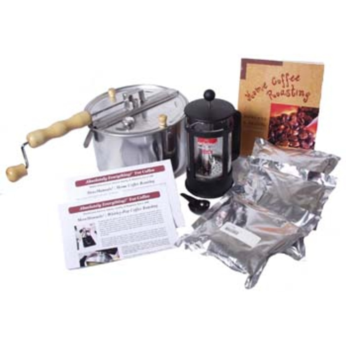 Coffee Roasting Starter Kit A (Whirley-Pop)