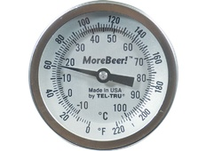"""Dial Thermometer (3'' Face x 2"""" Probe)"""
