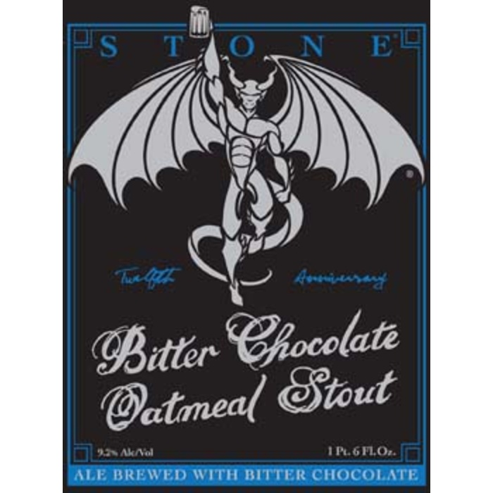 Stone's 12th Anniversary Bitter Chocolate Stout - Beer Recipe Kit