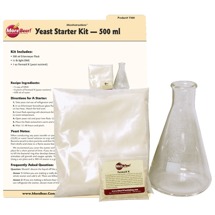 Yeast Starter Kit (500 ml)
