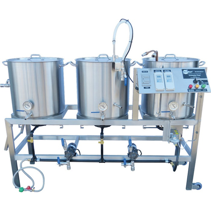 20 Gallon Digital Single-Tier BrewSculpture - Deluxe Frame