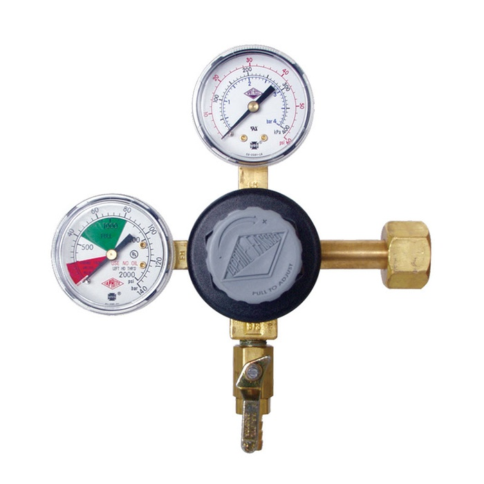 Dual Gauge CO2 Regulator - Taprite
