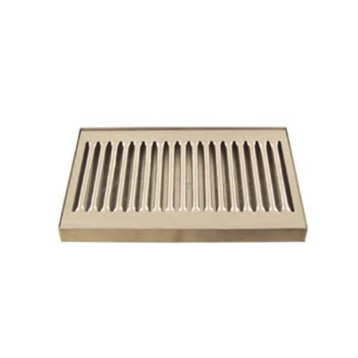 "Deluxe Stainless Drip Tray - 8.25"" Counter Top"