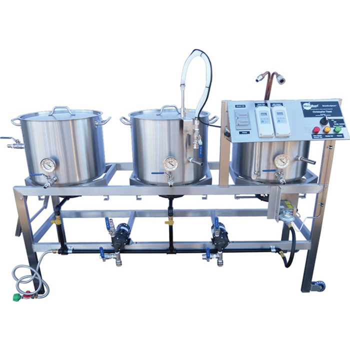 10 Gallon Digital Single-Tier BrewSculpture - Deluxe Frame