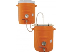 B3-350 10 Gallon Cooler All Grain System (With Thermometers)