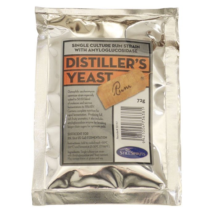 Turbo Yeast - Rum Distiller's