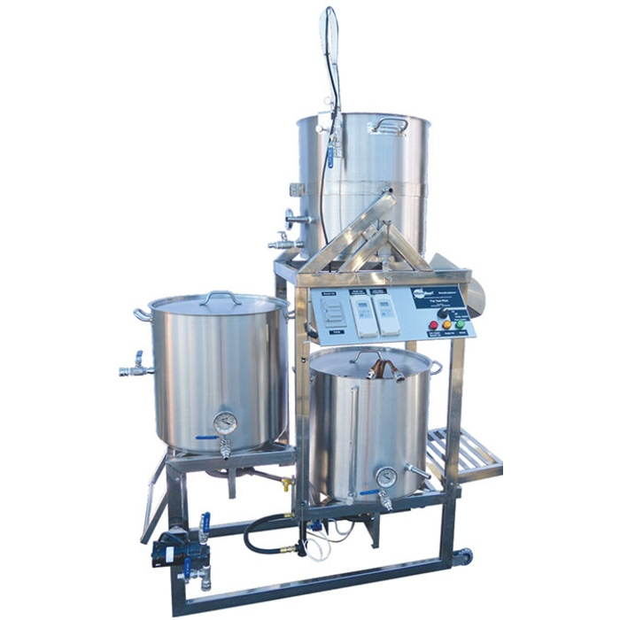 10 Gallon Tippy-Dump BrewSculpture - Digital Deluxe (Natural Gas)