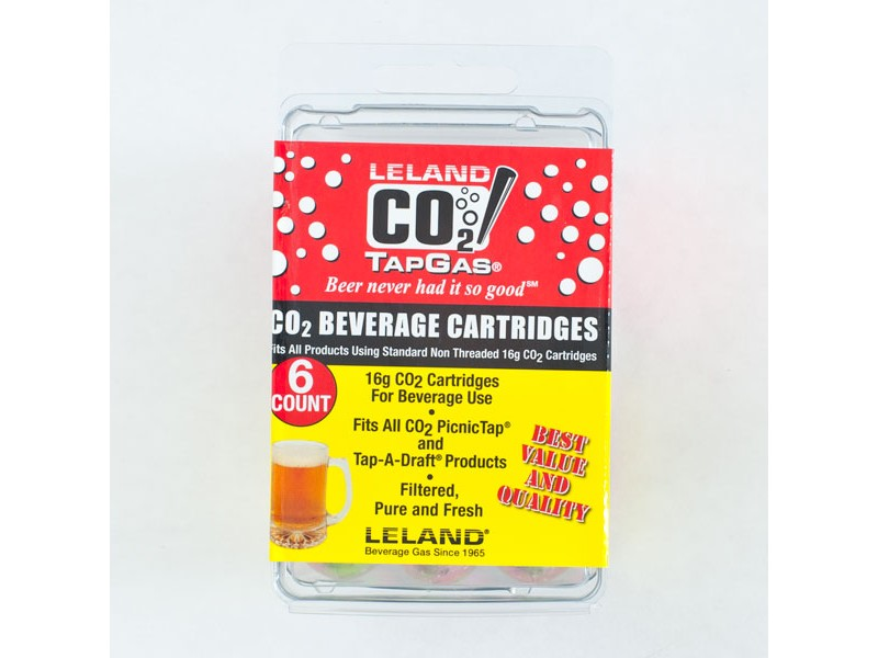 16 gram TAD CO2 Cartridge - pack of 6
