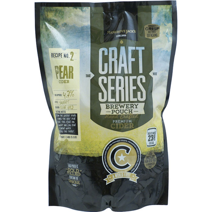 Mangrove Jack's British Series Pear Cider Pouch