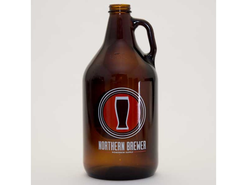 Red Crest Growler with Cap