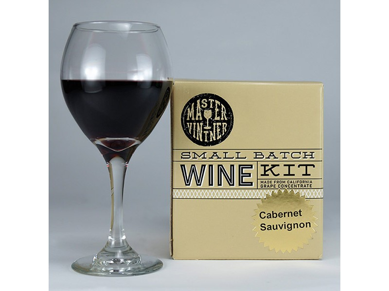 Cabernet Sauvignon - Master Vintner Small Batch Wine Recipe Kit