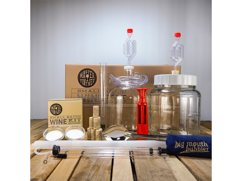 Master Vintner Small Batch Wine Starter Kit